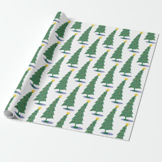 Oh! Christmas Tree Wrapping Paper