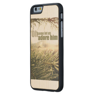 Oh come let us adore him - iPhone Case
