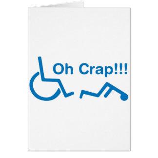 oh crap card