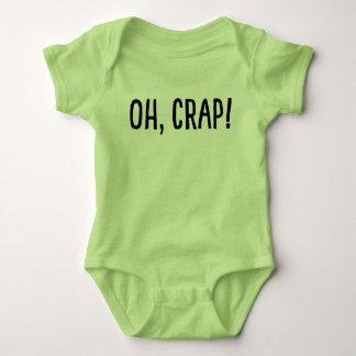 Oh, Crap! (I've Been Cloned!) Baby Bodysuit