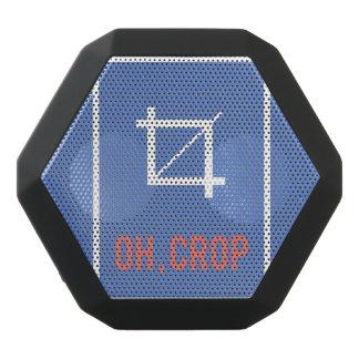 Oh crop black bluetooth speaker