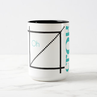 """Oh Crop"" Graphic Designer Mug"