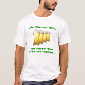 Oh Danny Boy (double sided) T-Shirt