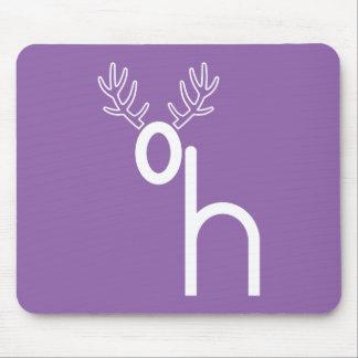 """Oh Dear (Deer)"" Puzzle Mousepad"