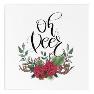 Oh, Deer Acrylic Print