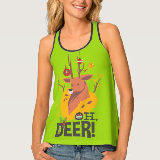 Oh Deer and a Funny Christmas Tank Top