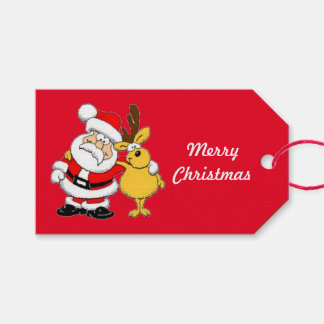 Oh Deer Merry Christmas Gift Tags