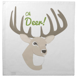 Oh Deer Cloth Napkin