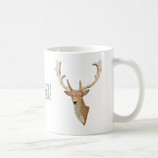 Oh Deer - Natural looking Deer - Forest Life Coffee Mug