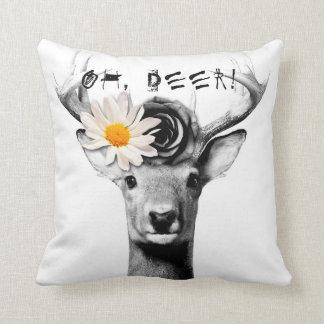 Oh, deer! pillow