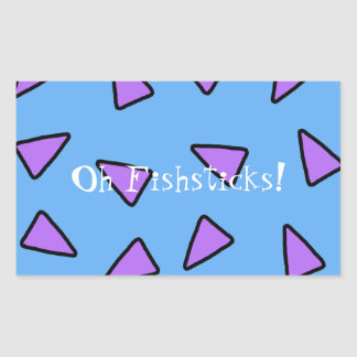 Oh Fishsticks! Geometric Sticker