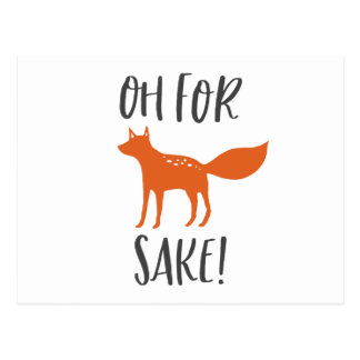 Oh For Fox Sake! 2 Postcard
