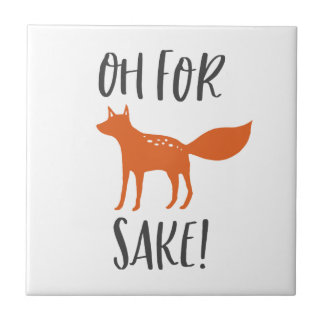 Oh For Fox Sake! 2 Tile