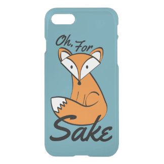 Oh, For Fox Sake iPhone 8/7 Case