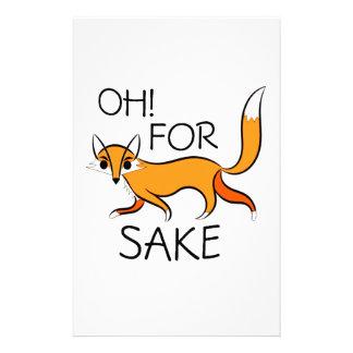 OH FOR FOX SAKE! STATIONERY