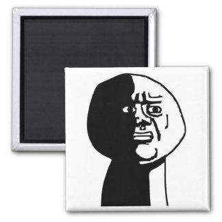 Oh God Why Guy Rage Face Meme Fridge Magnets