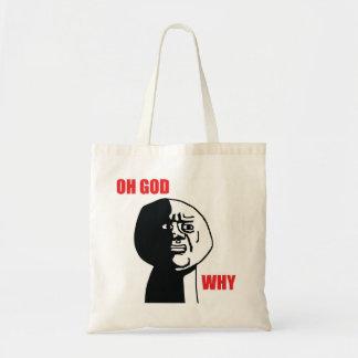 Oh God Why - Tote Bag