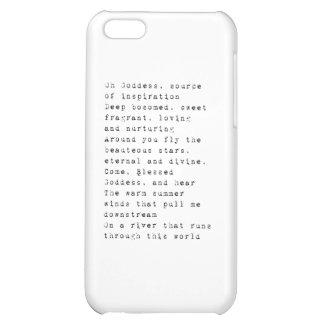 Oh Goddess.pdf iPhone 5C Covers