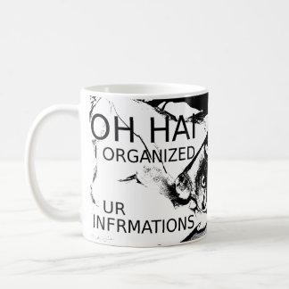 Oh Hai I Organized Ur Infrmations Coffee Mug