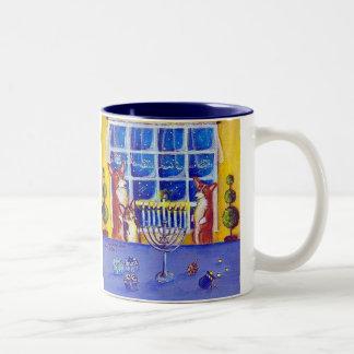 Oh Hanukkah! Pembroke Welsh Corgi Mug
