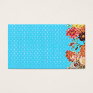 Oh Happy Day! - Blue Business Card
