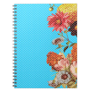Oh Happy Day! - Blue Spiral Notebook