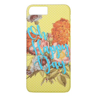 Oh Happy Day! Yellow iPhone 7 Plus Case