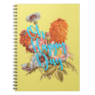 Oh Happy Day! Yellow Notebooks