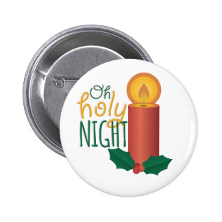 Oh Holy Night 2 Inch Round Button