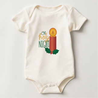 Oh Holy Night Baby Bodysuit