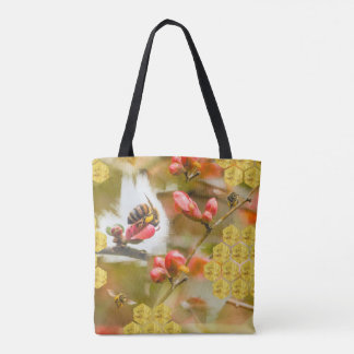 Oh, Honey honey bee Tote Bag