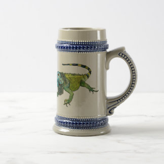 Oh How Iguana Go Home Beer Stein