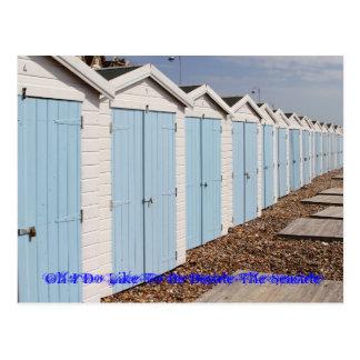 Oh I Do Like To Be Beside The Seaside Postcard