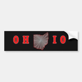 OH IO Ohio State Buckeye Bumper Sticker