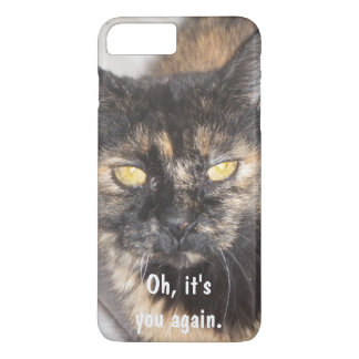 """Oh it's you again"""" humorous Phone Case"""