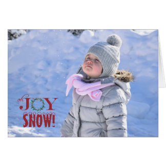Oh Joy Folded Photo Holiday Card