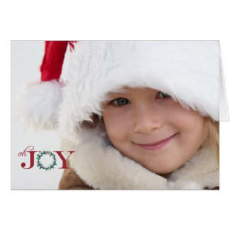 Oh Joy Folded Photo Holiday Card