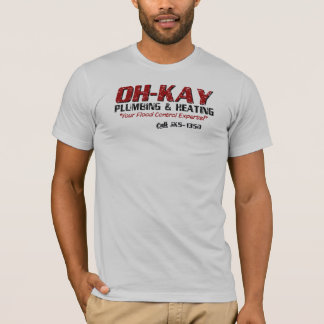 OH-KAY Plumbing & Heating (Distressed) T-Shirt