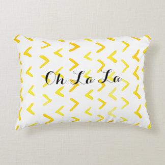 Oh La La Decorative Pillow