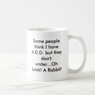Oh Look! A Rabbit! Coffee Mug