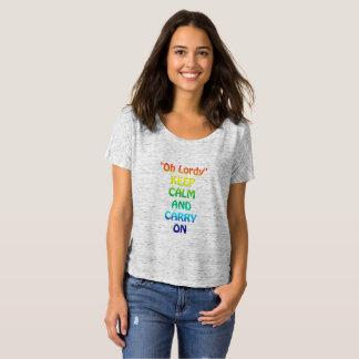 Oh Lordy Bella+Canvas Slouchy Boyfriend T-Shirt