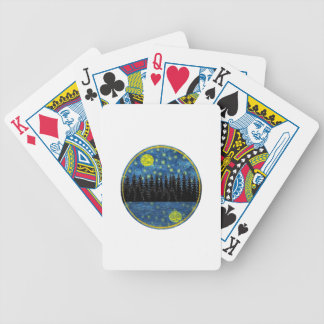 OH LOVELY EVENING BICYCLE PLAYING CARDS