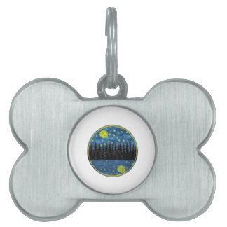 OH LOVELY EVENING PET ID TAG