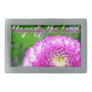 Oh Magnify The Lord! Belt Buckle