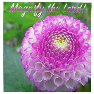 Oh Magnify The Lord! Napkin