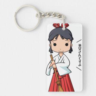 Oh! Miyako English story Omiya Saitama Yuru-chara Keychain