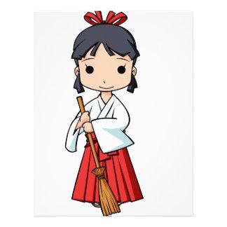 Oh! Miyako English story Omiya Saitama Yuru-chara Letterhead