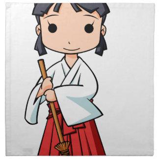 Oh! Miyako English story Omiya Saitama Yuru-chara Napkin