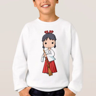 Oh! Miyako English story Omiya Saitama Yuru-chara Sweatshirt