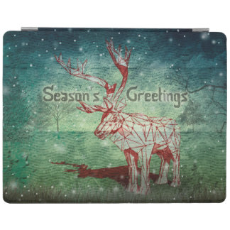 Oh My Deer~ Merry Christmas!   iPad 2/3/4 Cover iPad Cover